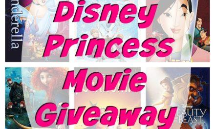 Disney Princess Movie Giveaway