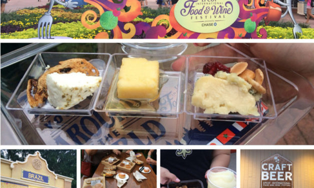 Epcot International Food and Wine Festival Fast Facts