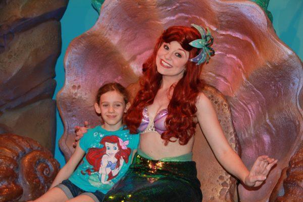 Meeting Ariel at Magic Kingdom ©Pixie Dust Daily