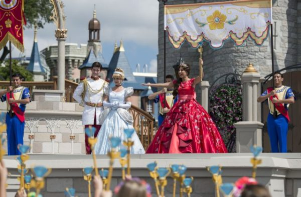 Elena of Avalor welcome ceremony ©Disney