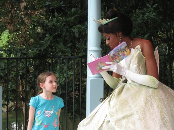 Tiana Meet & Greet ©Pixie Dust Daily