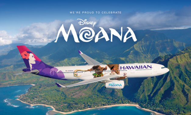 Hawaiian Airlines Launches Moana Themed Aircraft