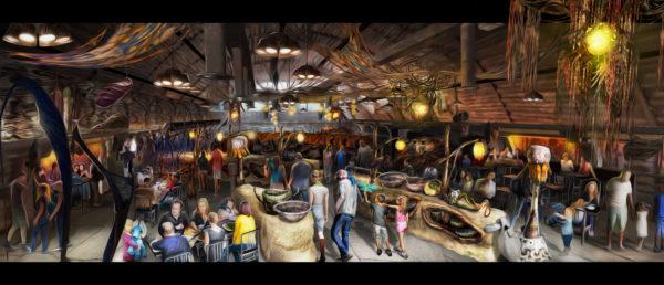 Pandora - World of Avatar Satu'li Canteen ©Disney Click for high-res image
