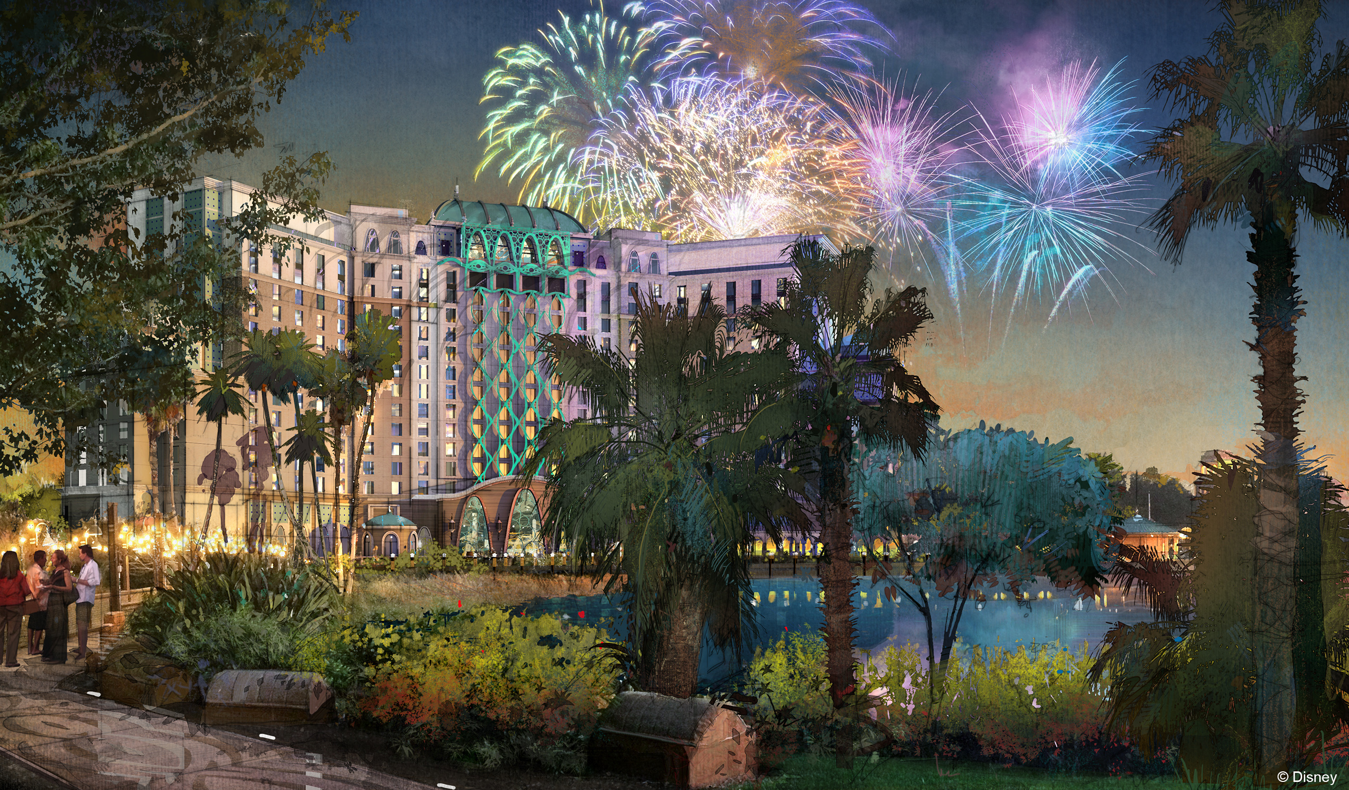 Exciting Renovations Coming To Disney S Coronado Springs And Caribbean Beach Resorts The Pixie