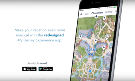 Newly Redesigned My Disney Experience App Released