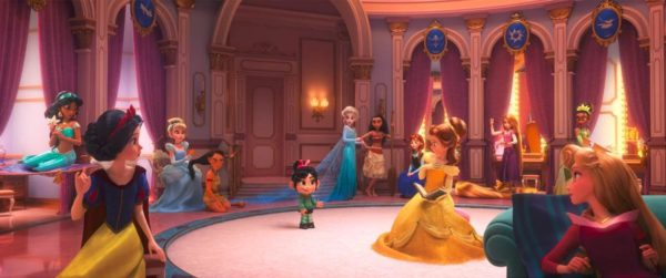 Wreck It Ralph 2 Princess Scene