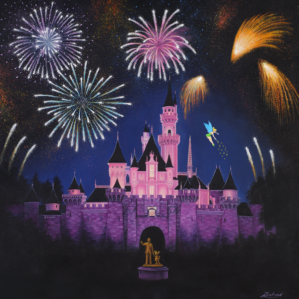 Disney Artist Larry Dotson to Debut New Paintings